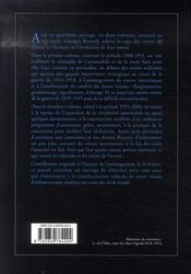 Les routes de france du xx siècle, 1900-1951 - 4ème de couverture - Format classique