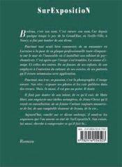 Surexposition - 4ème de couverture - Format classique