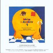 L'éléphant Tom et Zaza la mouche au chocolat - 4ème de couverture - Format classique