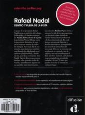 Nadal plus loin des courts - 4ème de couverture - Format classique