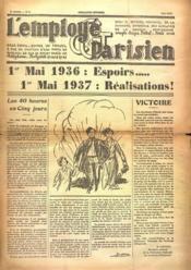 Employe Parisien (L') N°4 du 01/05/1937 - Couverture - Format classique