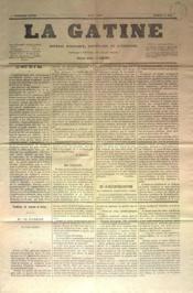 Gatine (La) N°11 du 14/05/1870 - Couverture - Format classique