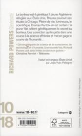 Générosité - 4ème de couverture - Format classique