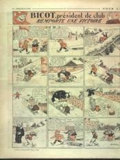 Dimanche Illustre N°154 du 07/02/1926 - 4ème de couverture - Format classique