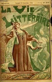 Les Peches. La Vie Litteraire. - Couverture - Format classique