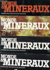 Lots De Revue - 11 Numeros Monde & Mineraux - Mineralogie, Paleontologie Geologie - 54 55 56 58 59 60 61 62 63 65 67 - Couverture - Format classique