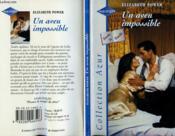 Un Aveu Impossible - The Wedding Betrayal - Couverture - Format classique