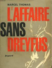 L'Affaire Sans Dreyfus - Couverture - Format classique