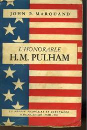 L'Honorable H. M. Pulham - Couverture - Format classique