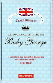 Vente  Le journal intime de baby George  - Clare Bennett