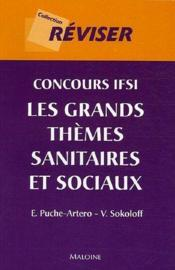 Concours Ifsi Grands Themes Sanitaires - Couverture - Format classique