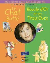 Le Chat Botte ; Boucle D'Or - Couverture - Format classique