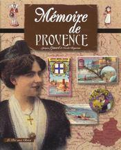 Memoire De Provence - Intérieur - Format classique