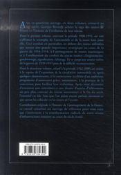 Les routes de France du xx siecle, 1952-2000 - 4ème de couverture - Format classique