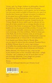 La pitoyable histoire de Leo Singer ; une trilogie viennoise - 4ème de couverture - Format classique