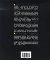 Le génie verrier de l'europe - 4ème de couverture - Format classique