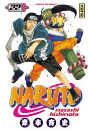 Naruto t.22 - Couverture - Format classique