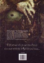 Necronomicon - 4ème de couverture - Format classique