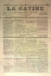 Gatine (La) N°12 du 21/05/1870 - Couverture - Format classique