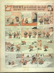Dimanche Illustre N°155 du 14/02/1926 - 4ème de couverture - Format classique
