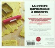 La petite imprimerie à biscuits ; coffret mini master class - 4ème de couverture - Format classique