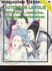 Magazine Litteraire N°175 - Autour De La Folie - Couverture - Format classique