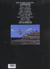 Le Mercenaire T.12 ; La Delivrance - 4ème de couverture - Format classique