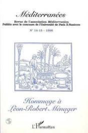 Hommage A Leon-Robert Menager - Couverture - Format classique