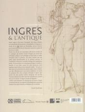 Ingres Et L'Antique - 4ème de couverture - Format classique