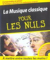 La musique classique pour les nuls - Intérieur - Format classique