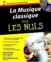 La musique classique pour les nuls - Couverture - Format classique