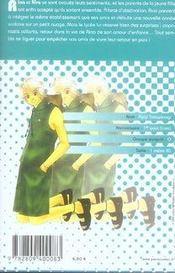 Binetsu shojo t.3 - 4ème de couverture - Format classique