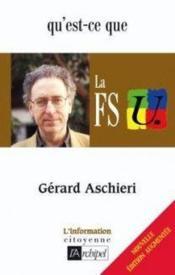 Qu'est-ce que la FSU (édition 2006) - Couverture - Format classique