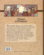 Memoires Des Pyrenees - 4ème de couverture - Format classique