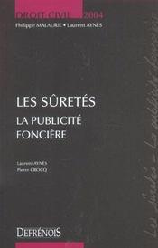 Droit Civil Les Suretes - Intérieur - Format classique