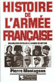 Histoire de l'armee francaise - Intérieur - Format classique