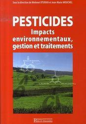 Pesticides : impacts environnementaux, gestion et traitements - Intérieur - Format classique