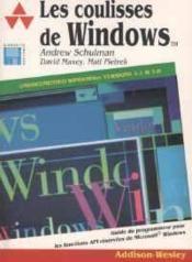 Les Coulisses De Windows - Couverture - Format classique