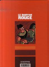 Le banyan rouge - 4ème de couverture - Format classique