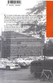 Médias autonomes - 4ème de couverture - Format classique