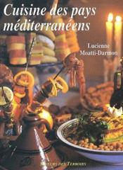 Cuisine des pays méditerranéens - Couverture - Format classique