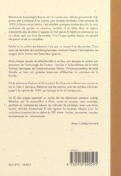 Le cahier de beatrice, une enfance bretonne et gourmande - 4ème de couverture - Format classique