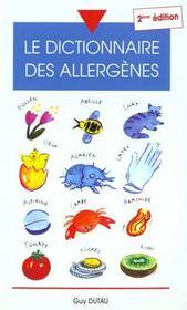 Dictionnaire Des Allergenes ; 2e Edition - Intérieur - Format classique
