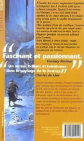 Dernier Magicien (Le) - 4ème de couverture - Format classique