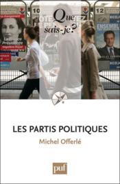 Les partis politiques (8e édition) - Couverture - Format classique