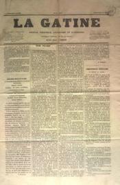 Gatine (La) N°12 du 29/05/1870 - Couverture - Format classique