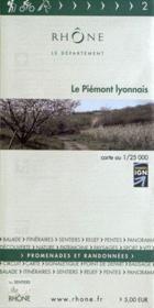 Le piemont lyonnais n 2 - Couverture - Format classique