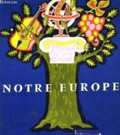Notre Europe - Couverture - Format classique
