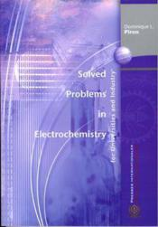 Vente  Solved Problems In Electrochemistry For Universities And Industry  - Piron Dominique L.