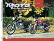 Rmt 39 Yamaha Xs 500/Honda Cx 400-500 Et 650 - Couverture - Format classique